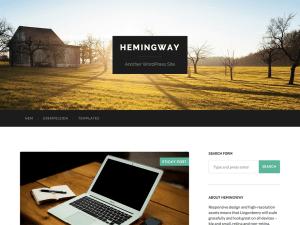Hemingway WordPress sablon